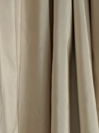 curtained